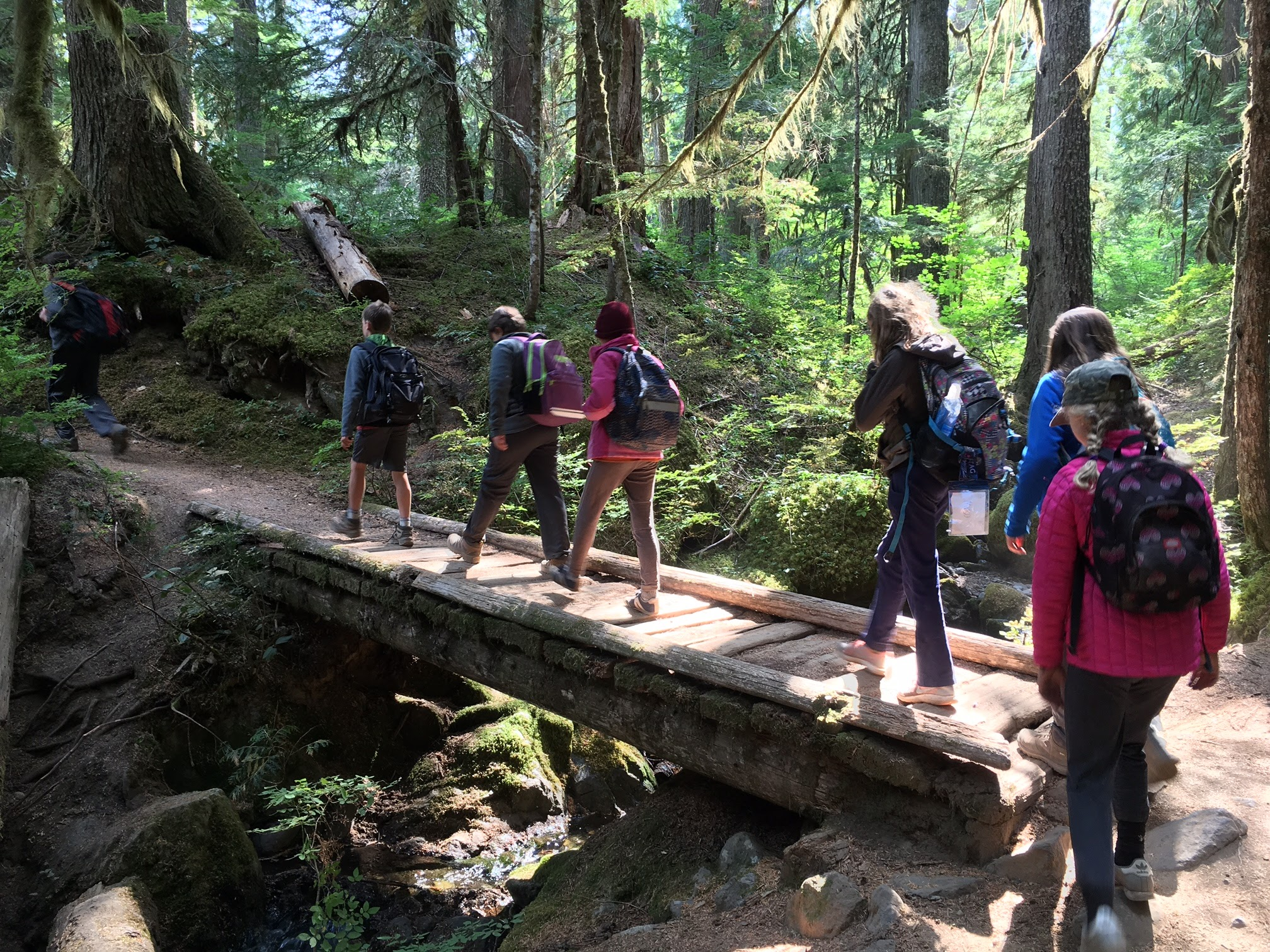 """I feel like I know my community a lot more than I did before."" 5th Grade Outdoor Trip Recap"