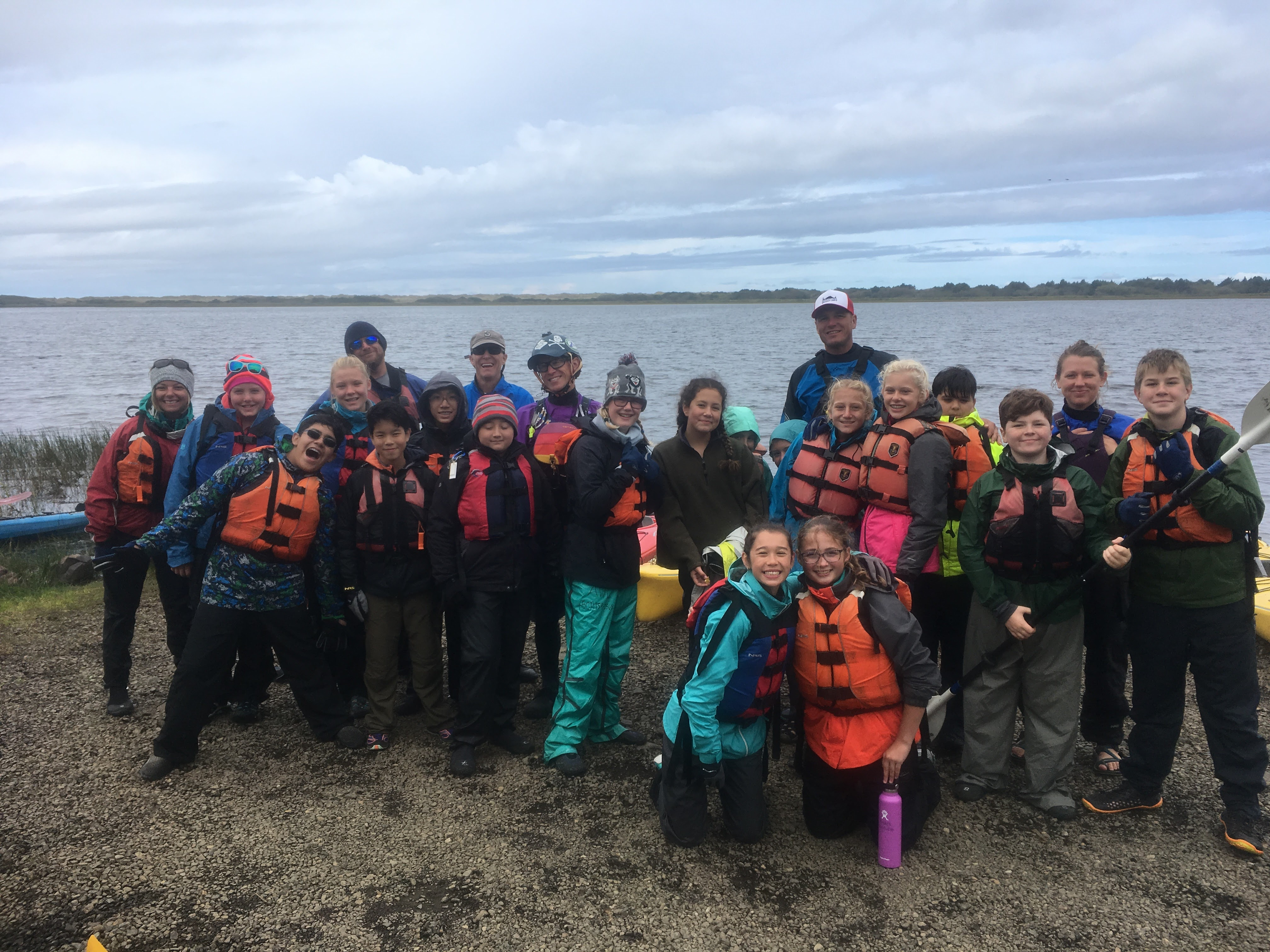 """There is no rainbow without the rain""- 7th Grade Outdoor Trip Recap"